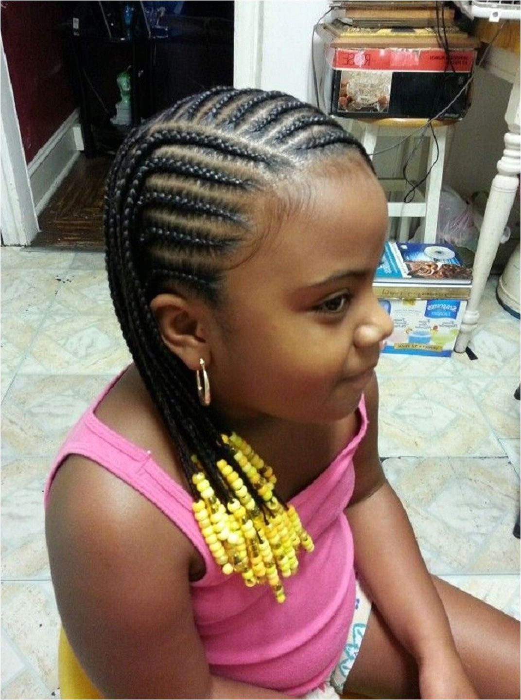 simple hairstyle for cornrow hairstyles for little girls large cornrows styles for little girls little black girl cornrow