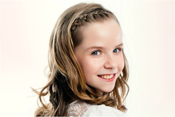 10 quick adorable back to school long hairstyles for little girls