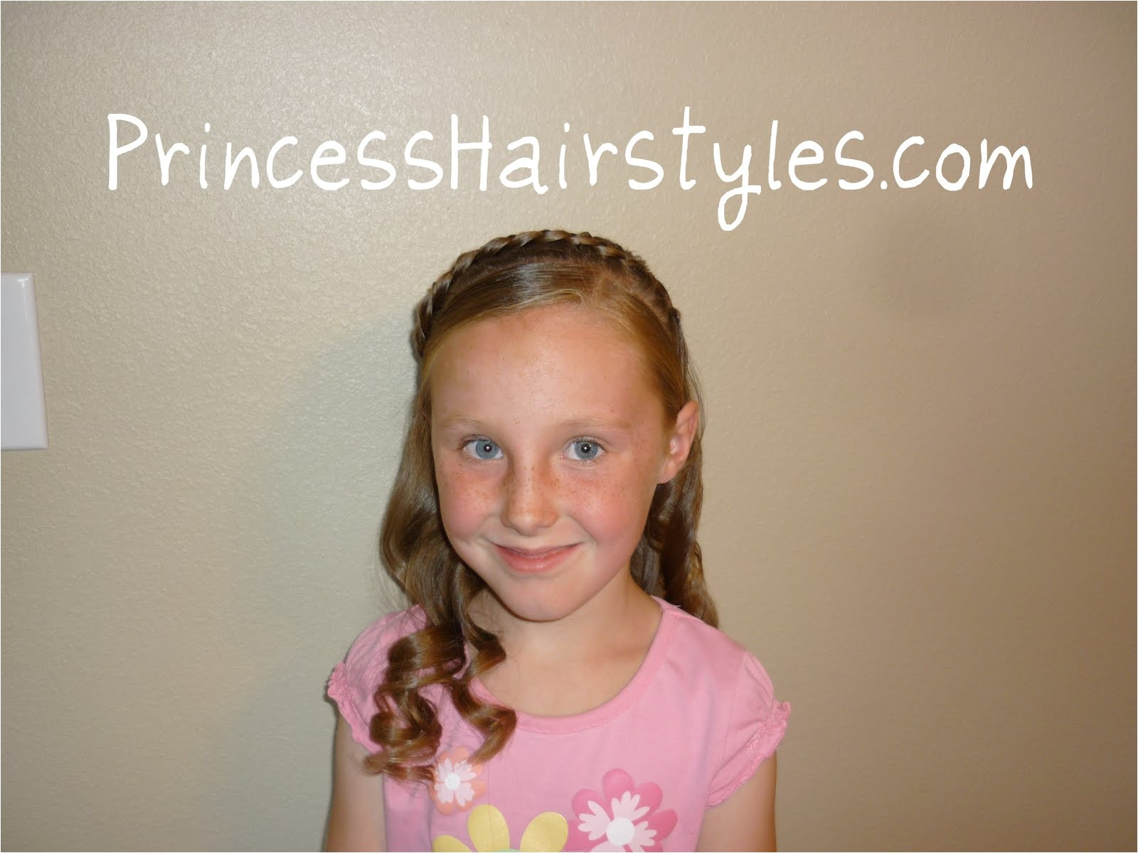 cute hairstyles for little girls picture day 2