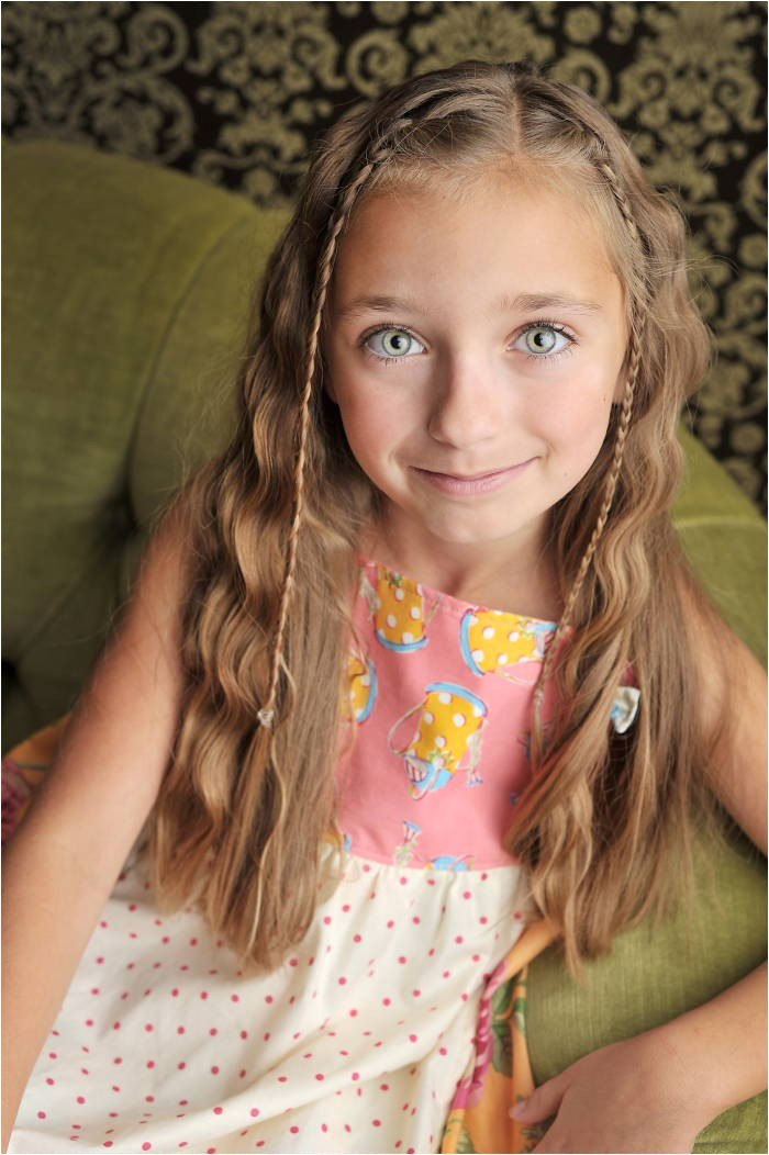 ideas for cute hairstyles for little girls with long hair