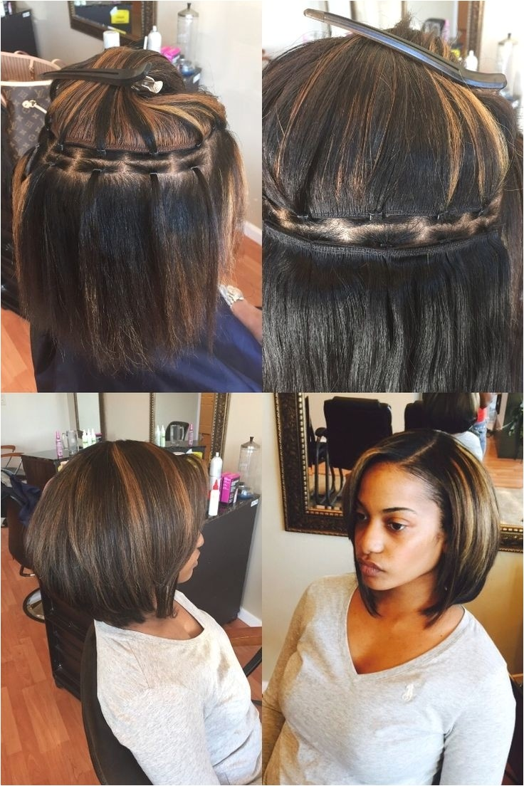 cute hairstyles with sew ins