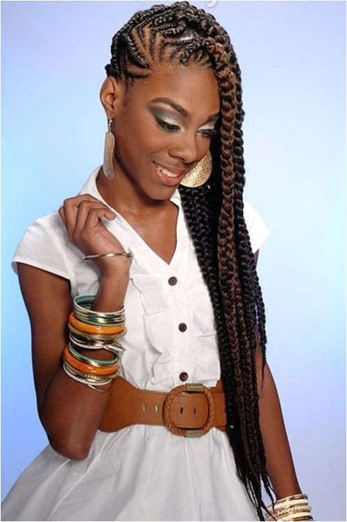 amazing braided hairstyles for black women with ponytail