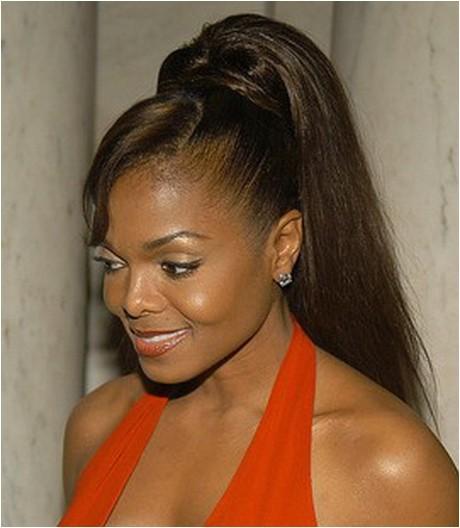cute black ponytail hairstyles