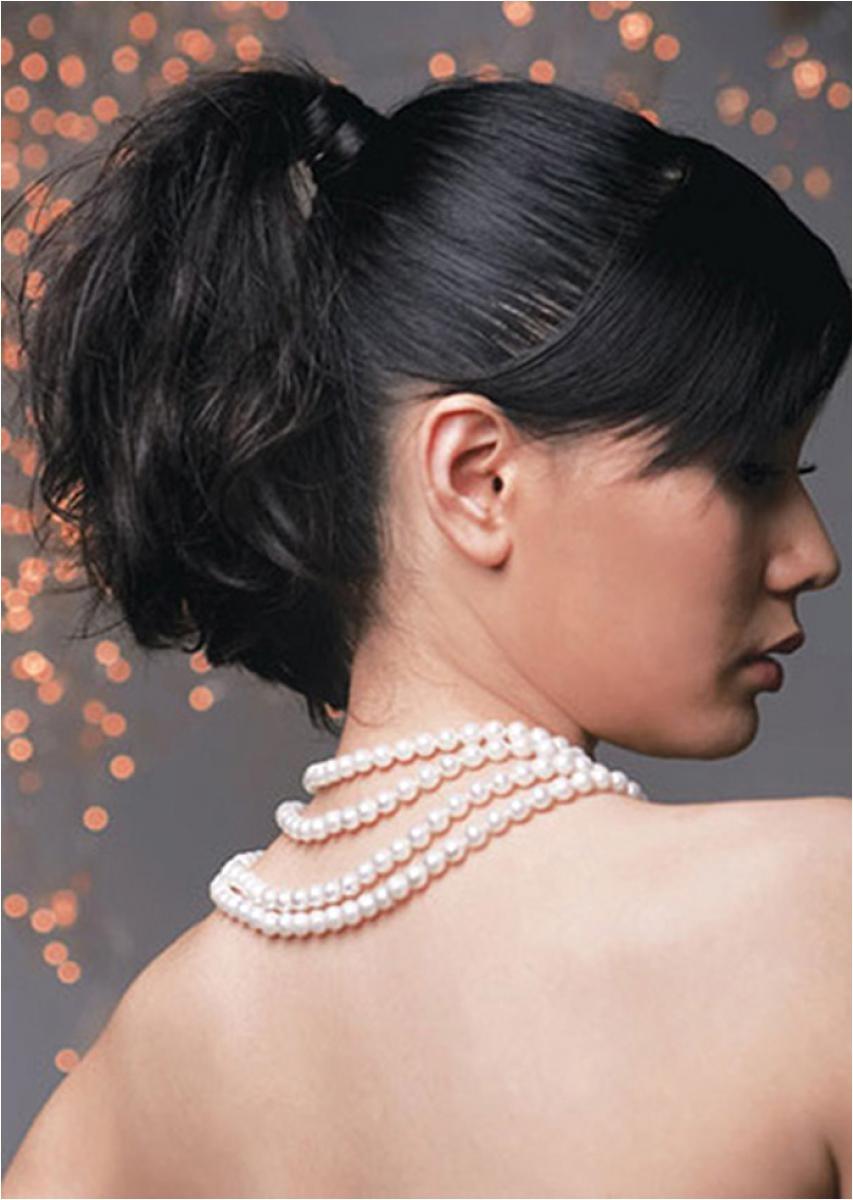cute black ponytail hairstyles 2
