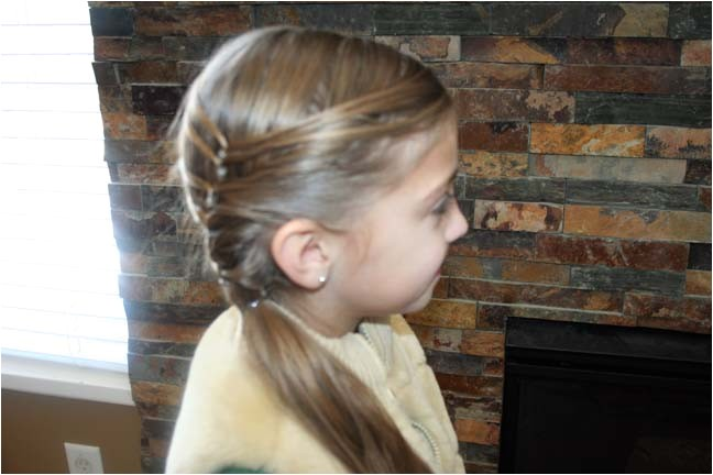 cute layered ponytail teen hairstyles
