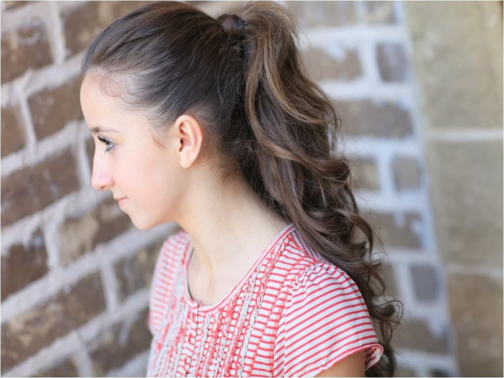 cute ponytail hairstyles for teenagers