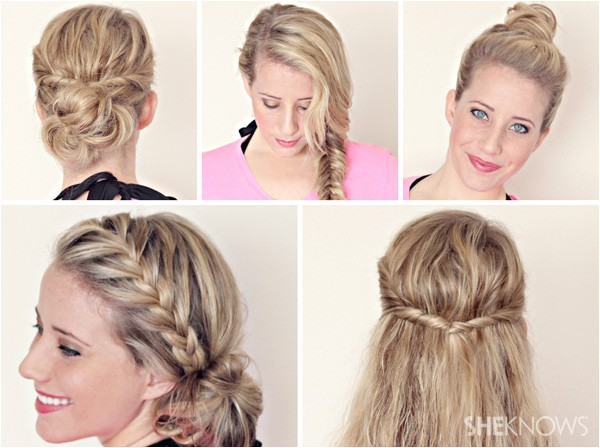 cute hairstyles for wet hair you