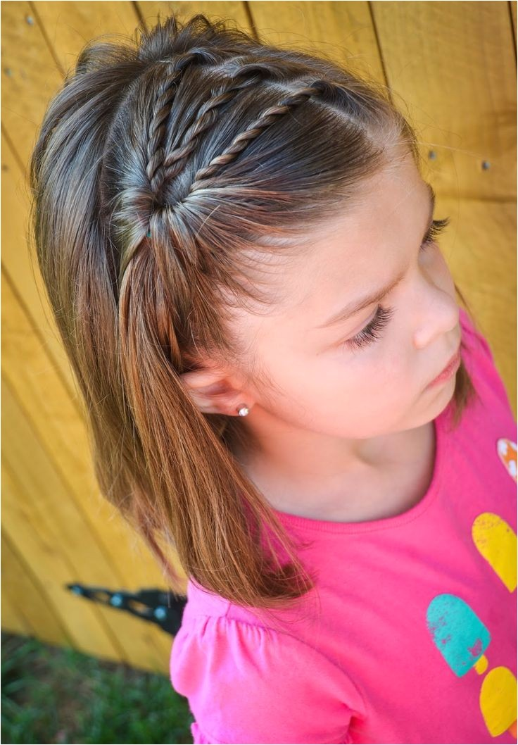 20 easy and cute hairstyles for little girls