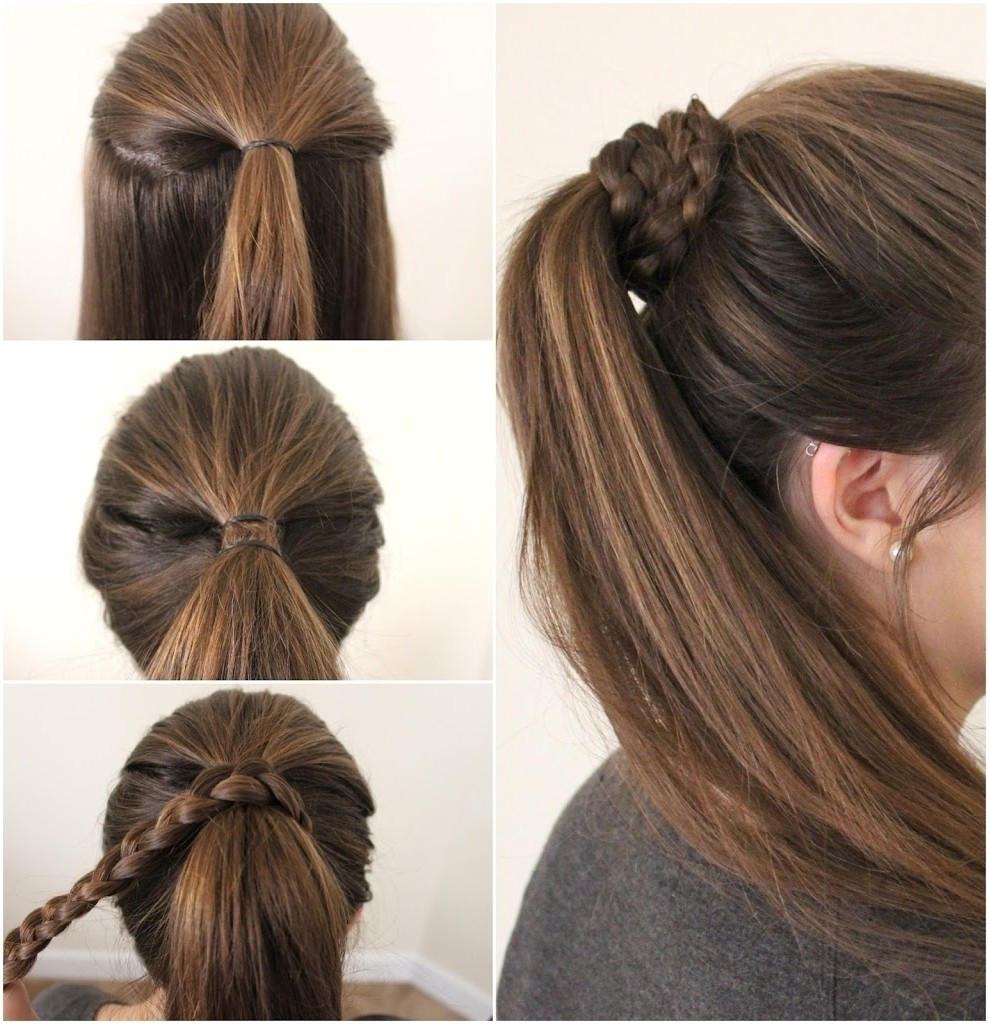 quick cute ponytail hairstyles
