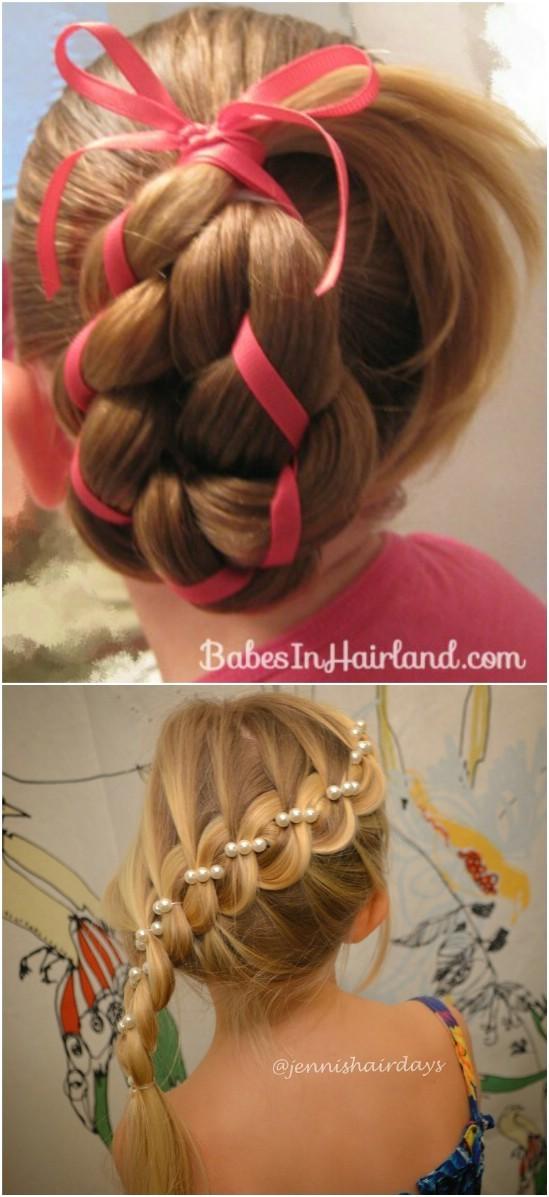 12 super cute diy christmas hairstyles lengths
