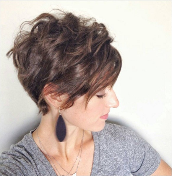 cute wavy curly pixie cuts pixie haircuts