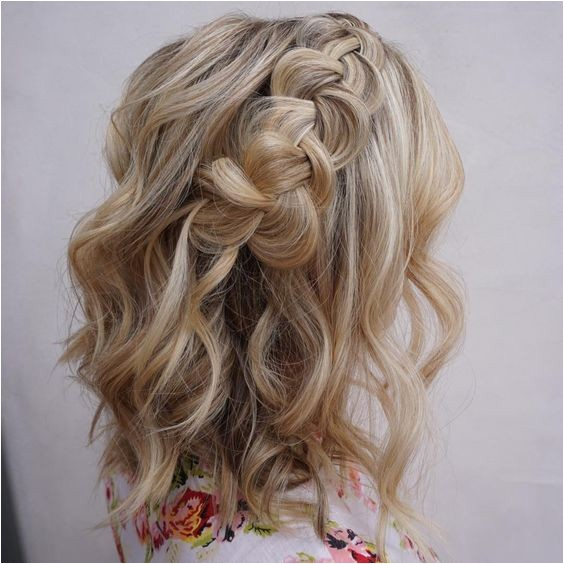 best formal hairstyles for medium hair