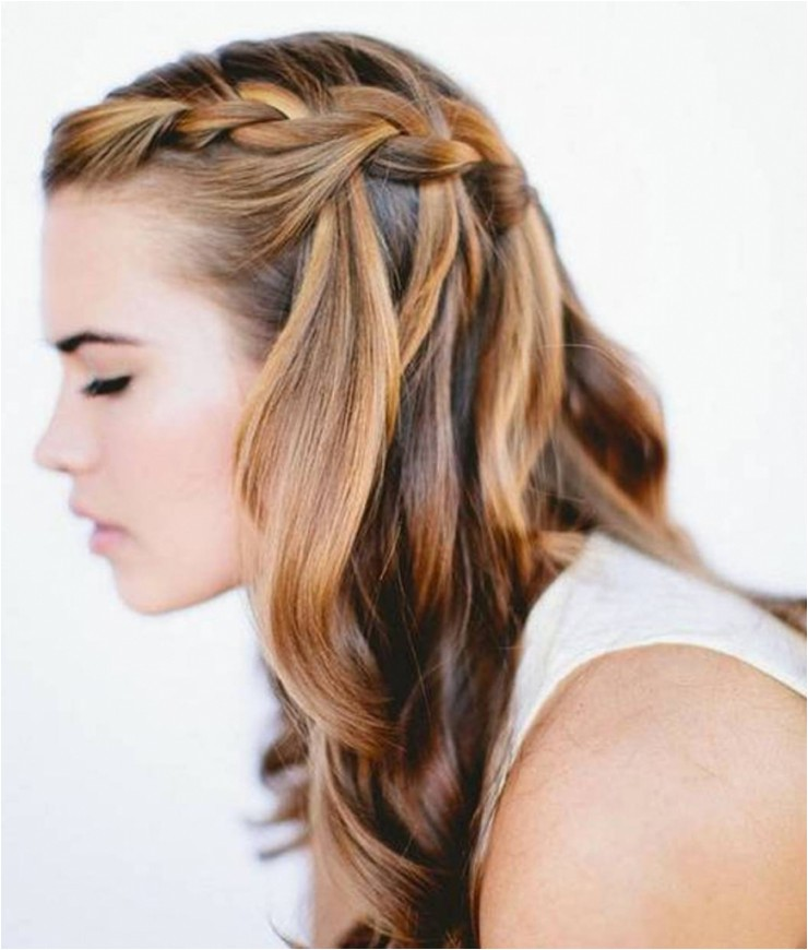 prom hairstyles for short hair with braids cute semi formal