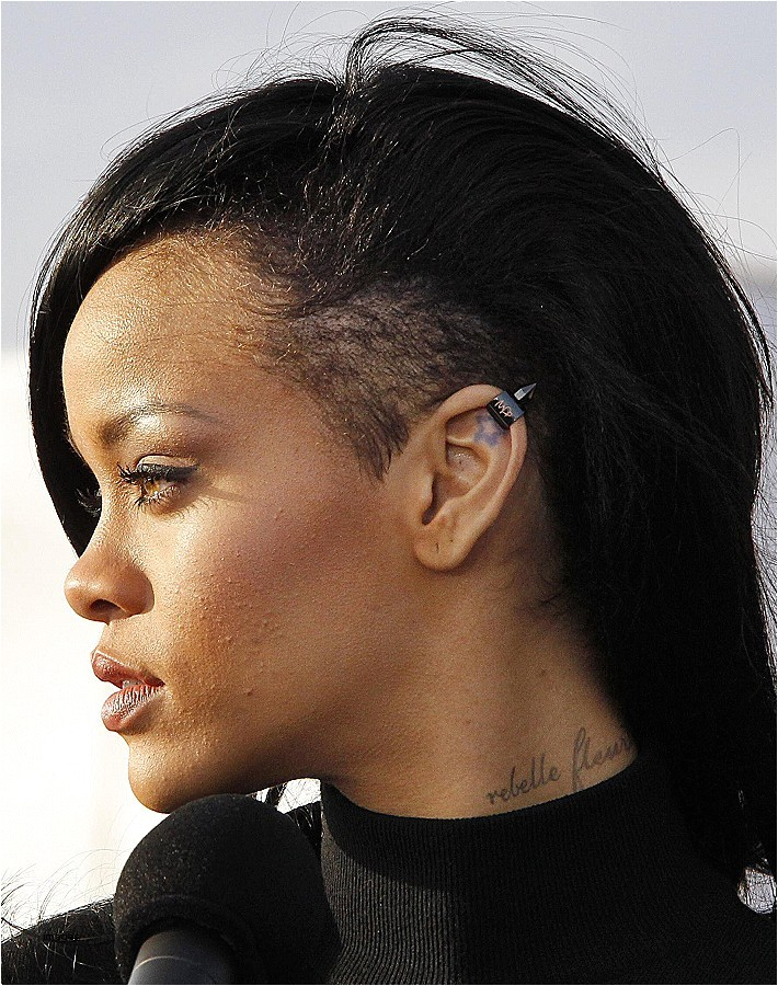 cute one side shaved hairstyles