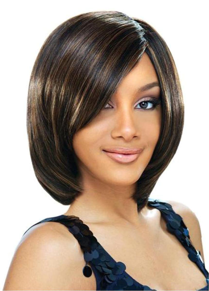 cute short bob hairstyles for black women 2