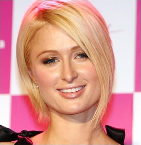 Cute Short Hairstyles for Square Faces Cute Short Bob Haircut for Square Face Shapes Stacked