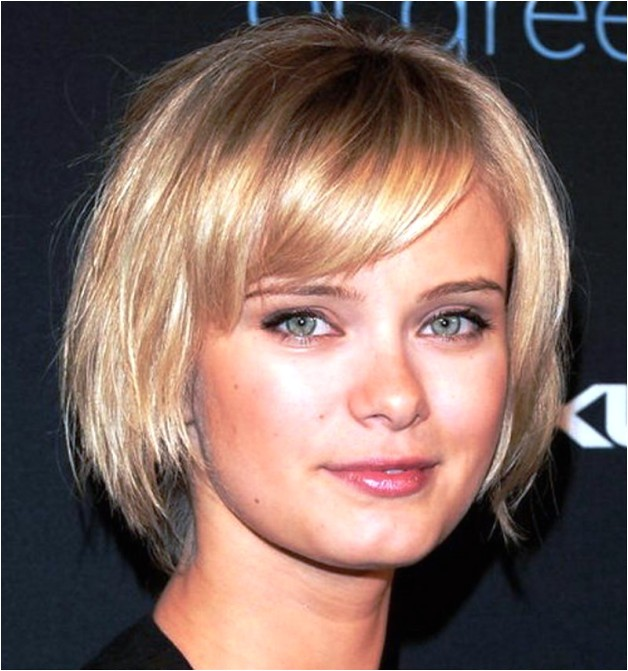 cute short hairstyles for square faces