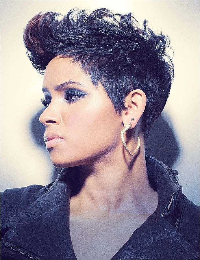 cute mohawk hairstyles for black women