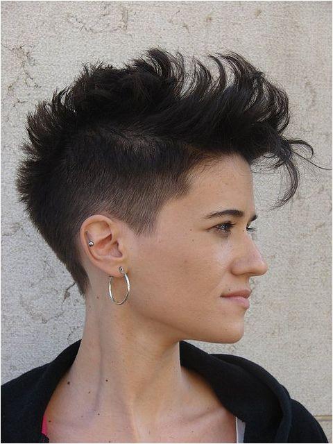 Cute Short Mohawk Hairstyles 1