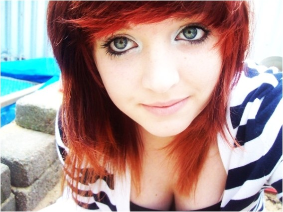 ideas for cute emo hairstyles for short hair