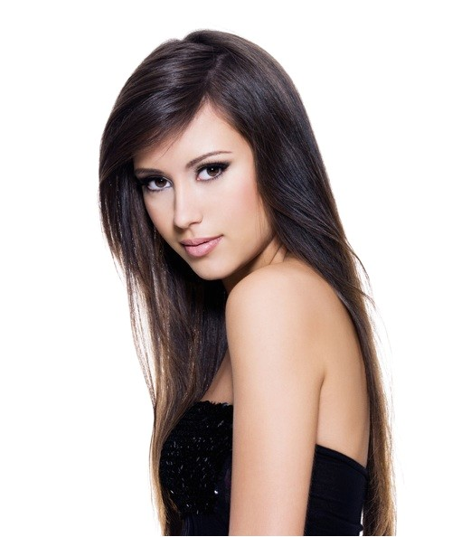 cute straight hair hairstyles side part