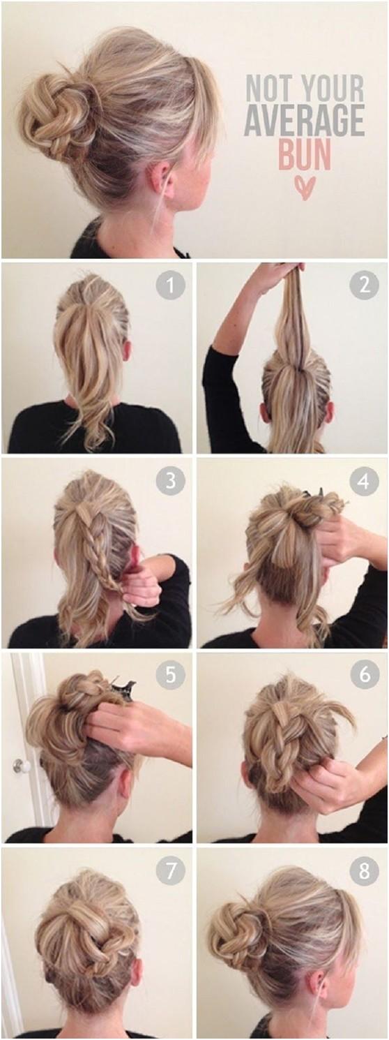 10 ways to make cute everyday hairstyles long hair tutorials respond
