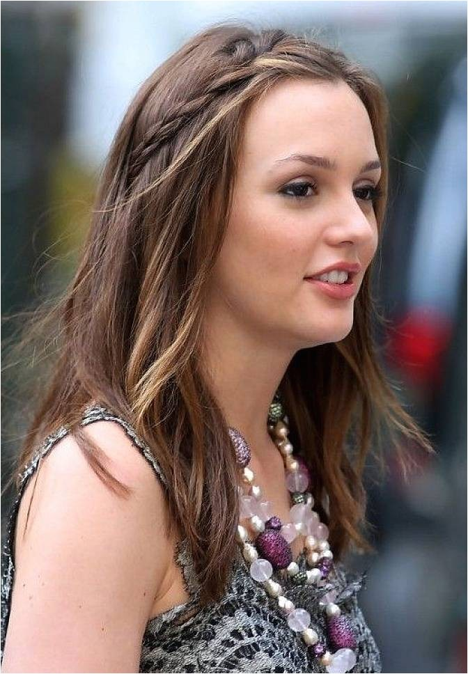 Cute Simple Hairstyles for Long Straight Hair Braid Hairstyles with Hair Highlights