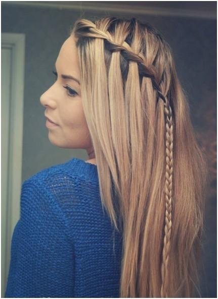 cute braid ideas long hairstyles for straight hair
