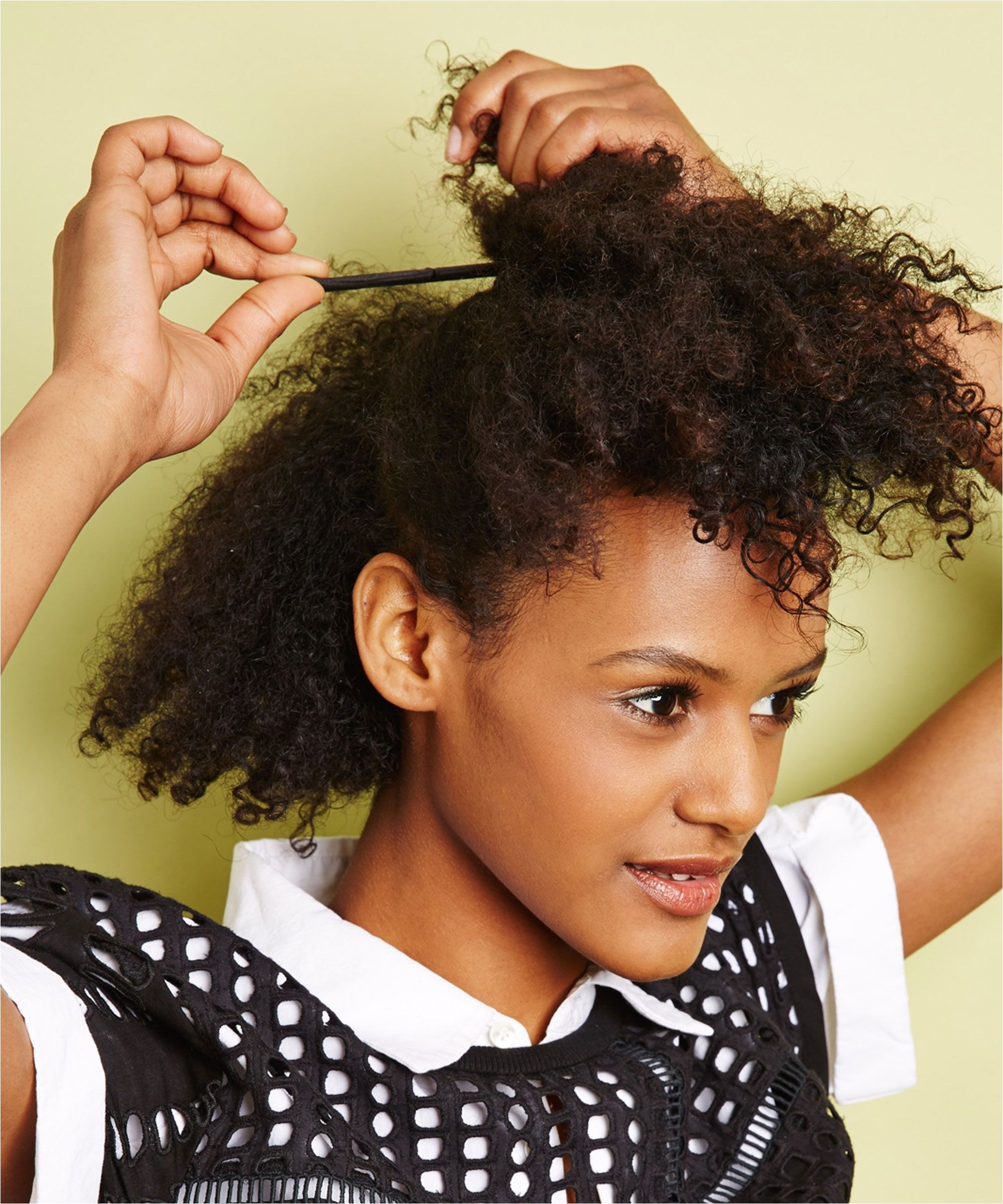 cute hairstyles for nappy hair