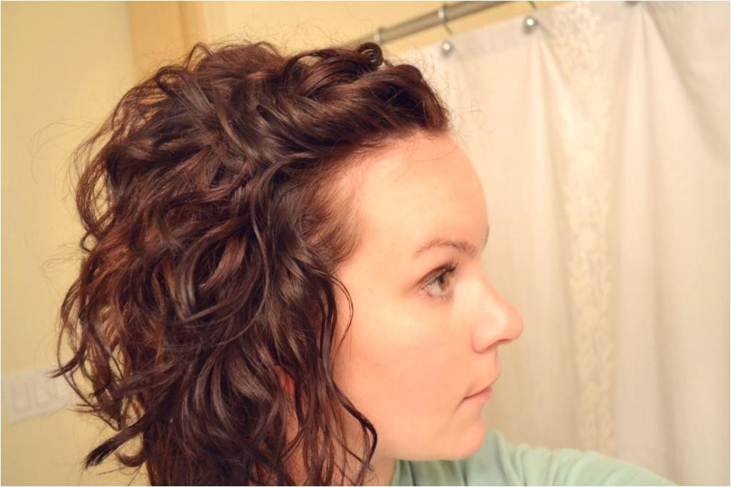 cute hairstyles with short curly hair