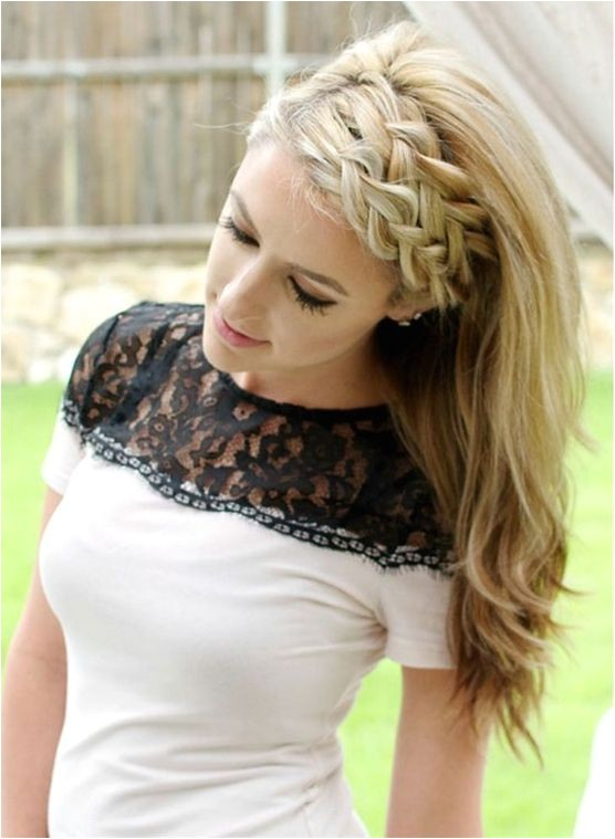 100 cute easy summer hairstyles for long hair femaline 5