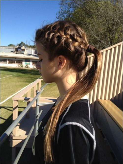 Cute soccer Hairstyles 22 Gorgeous Braided Hairstyles for Girls Hairstyles Weekly
