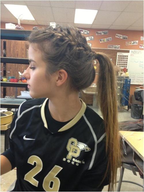 Cute soccer Hairstyles 2