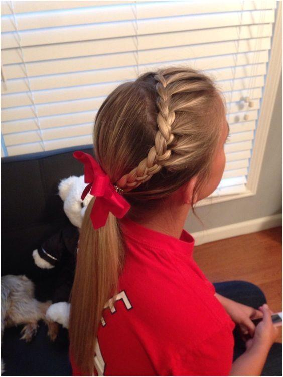 softball braids