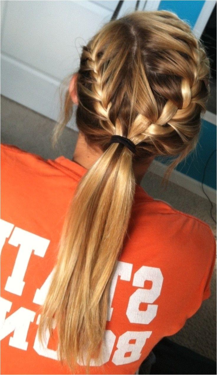 cute softball hairstyles