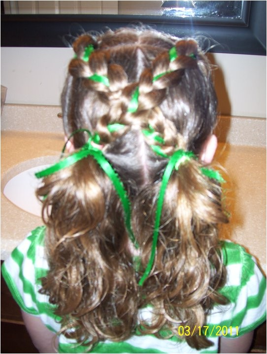 st patricks day hairstyles