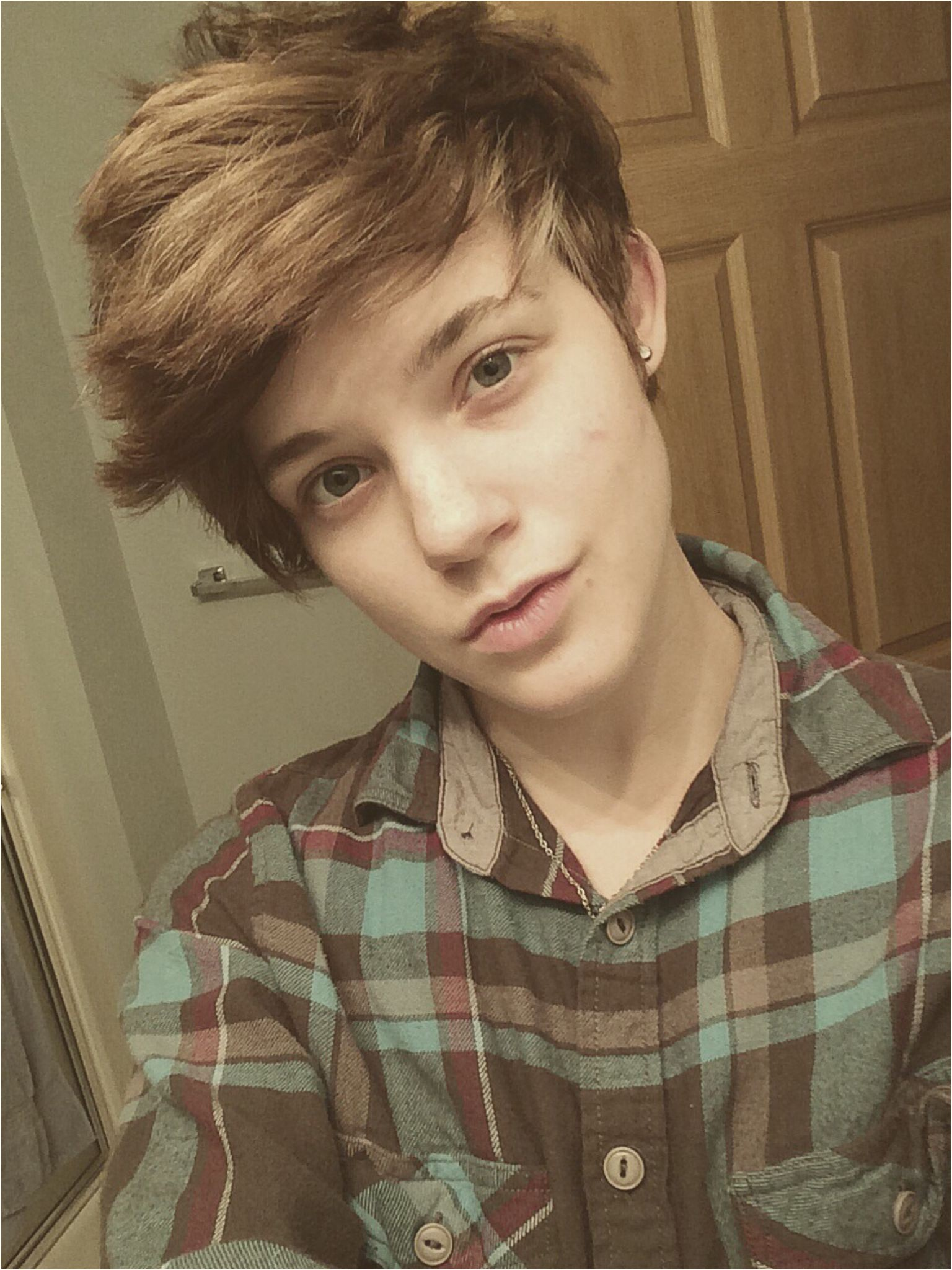 Cute tomboy Hairstyles 1