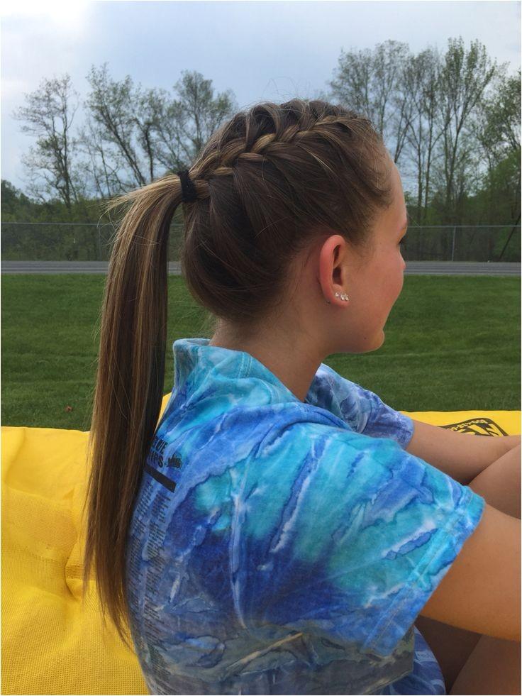 cute track meet hairstyles