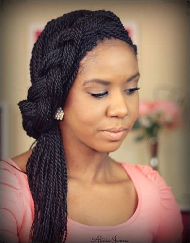 cute box braid hairstyles how to make them