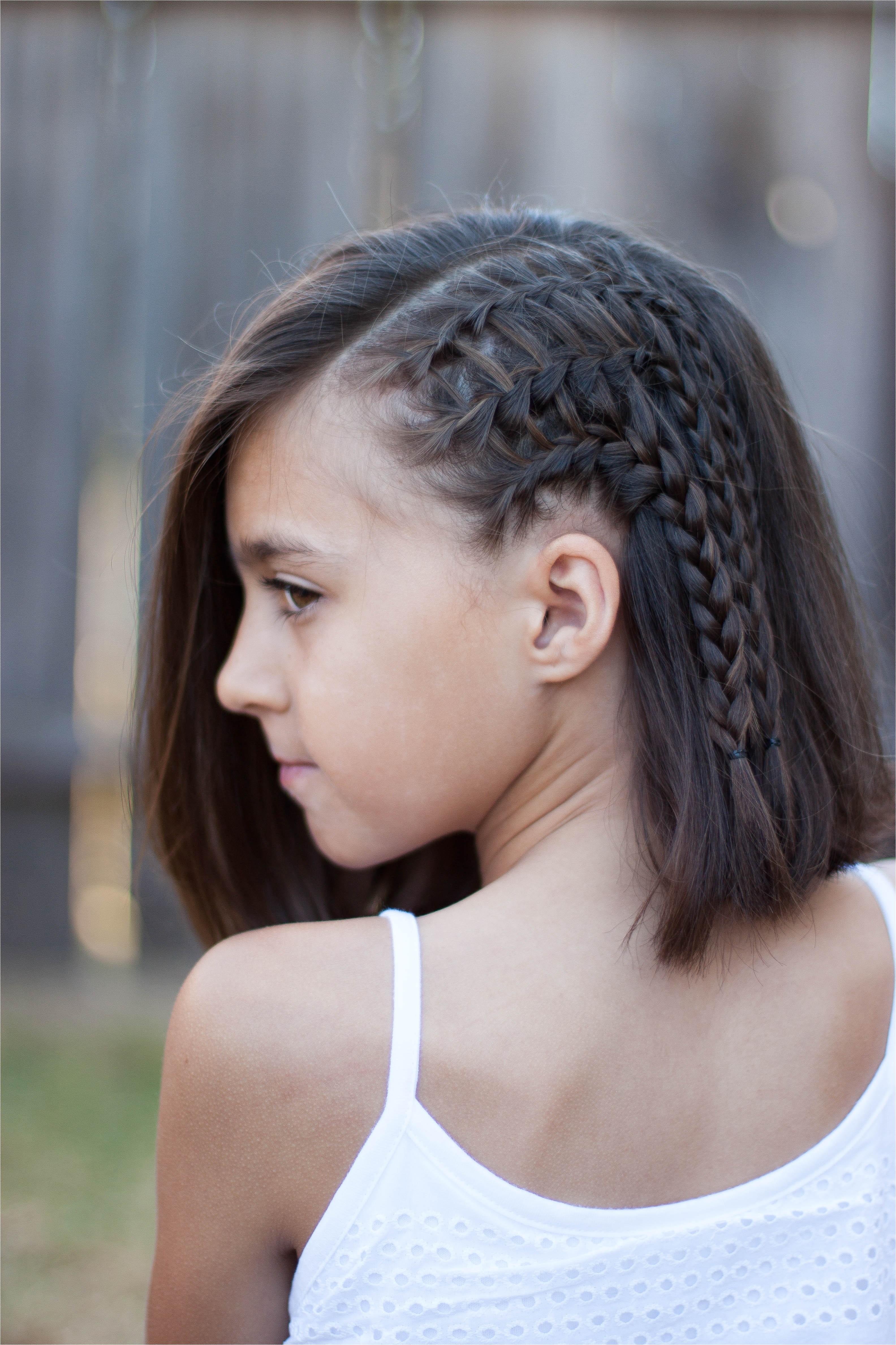 Cute Twist Hairstyles for Short Hair 5 Braids for Short Hair