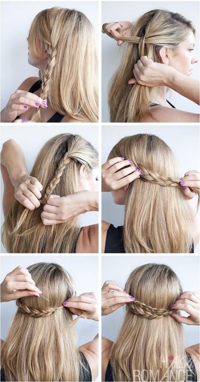 Cute Up Hairstyles for Medium Length Hair 12 Cute Hairstyle Ideas for Medium Length Hair