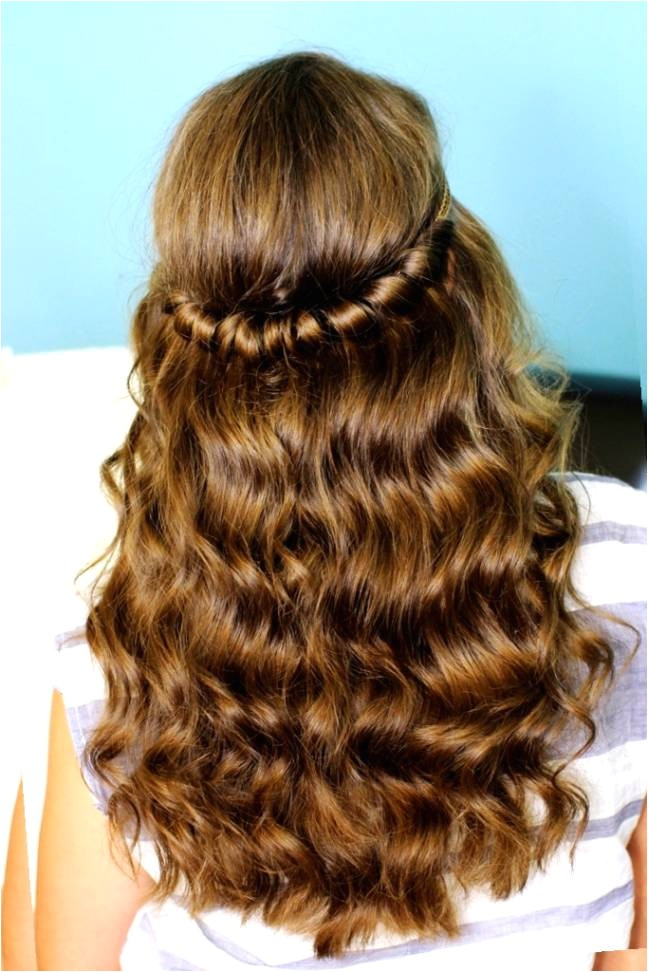 cute hairstyles for school dance