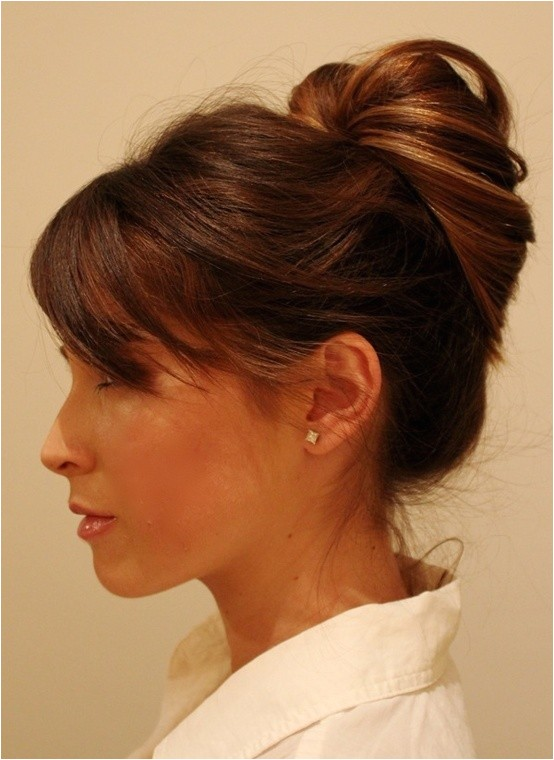 cute updos for work