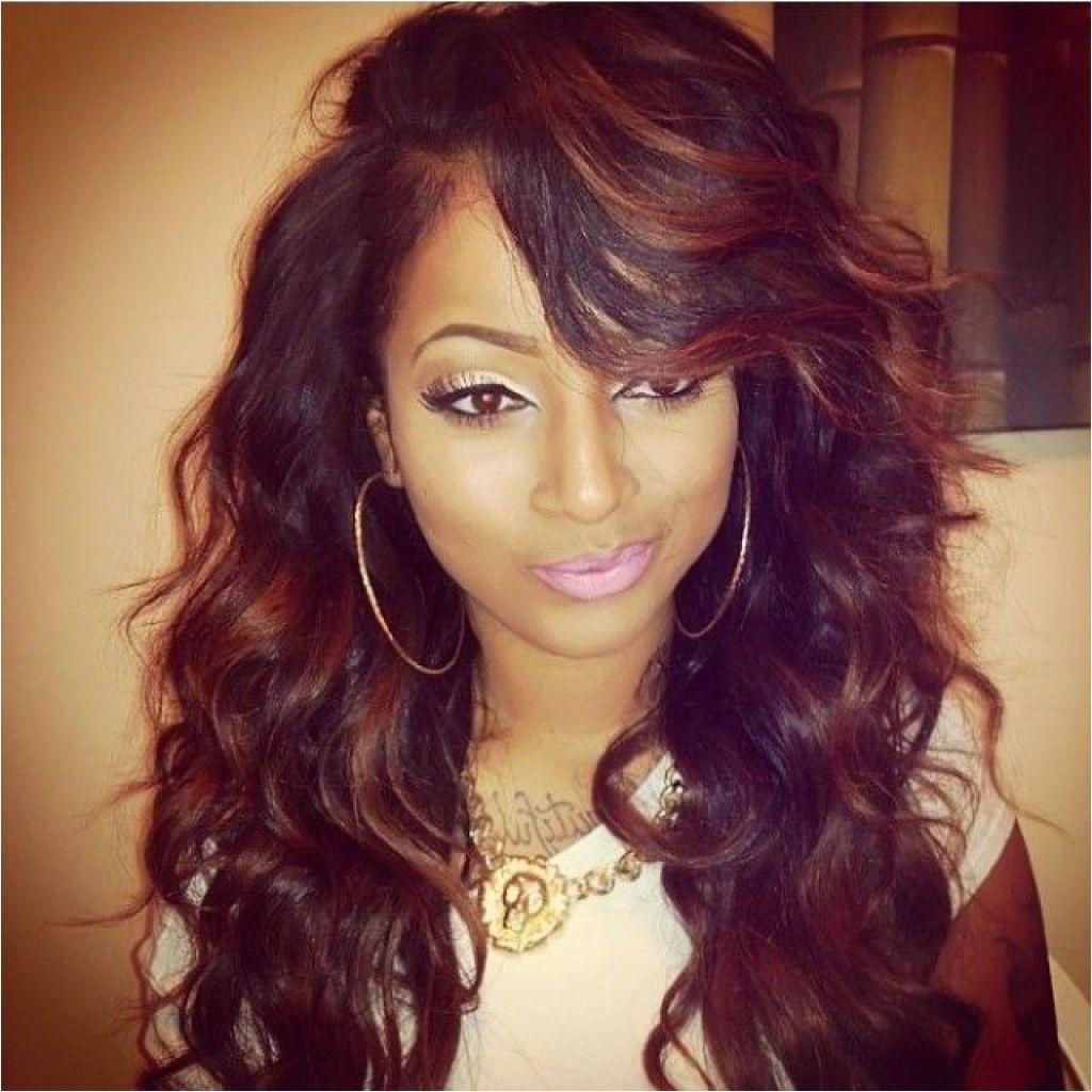 Cute Weave Hairstyles with Bangs Cute Long Quick Weave Hairstyles Women Hair Libs