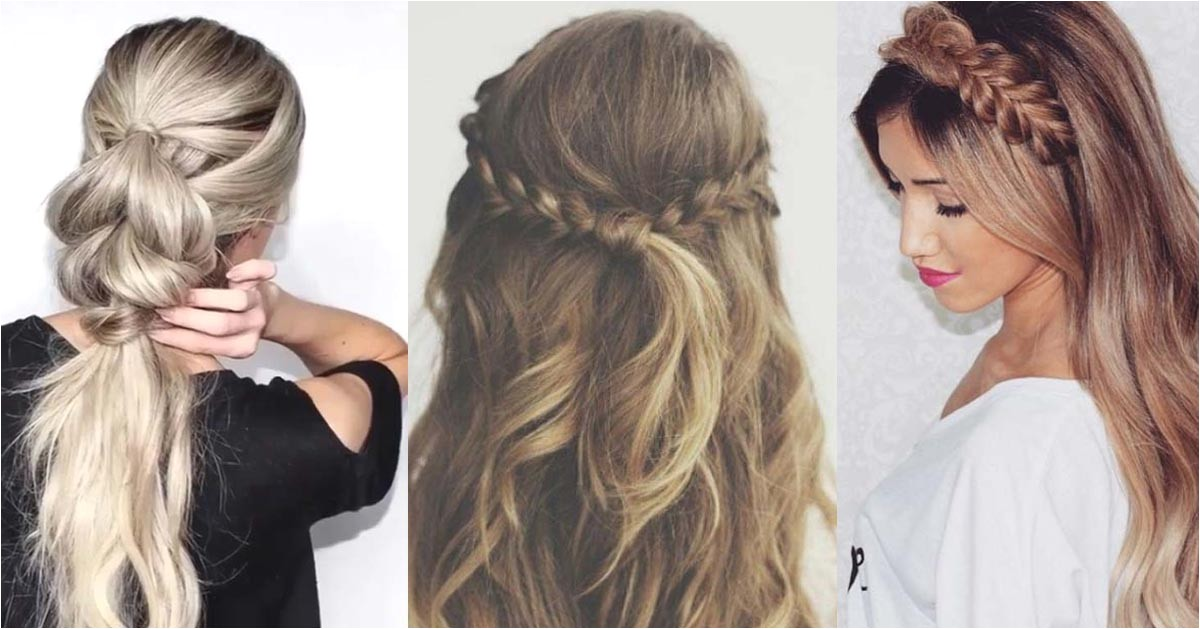easy cute hairstyles for work