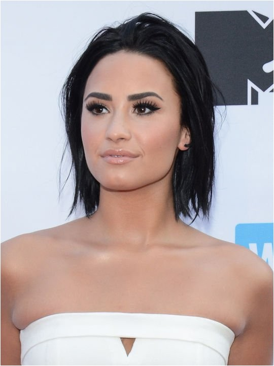 demi lovato bob haircut makeup tutorials