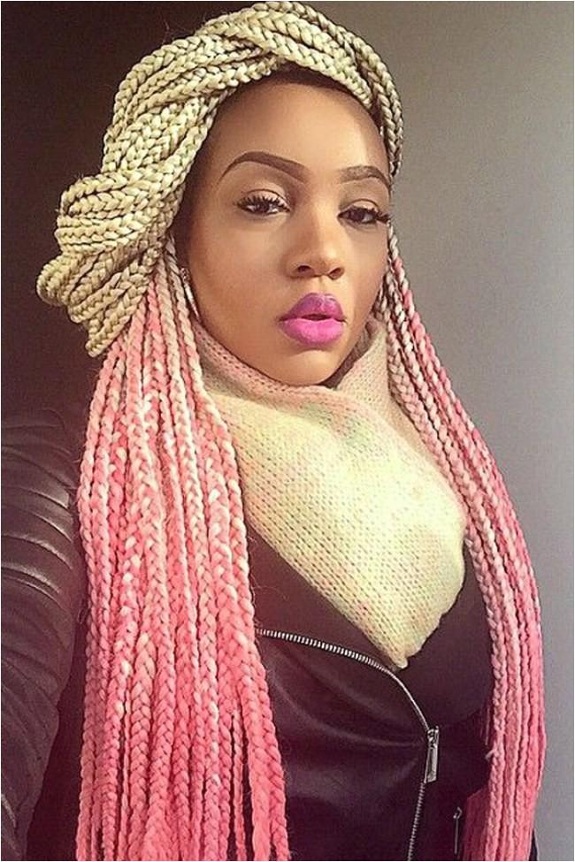 cool box braids hairstyles 2016