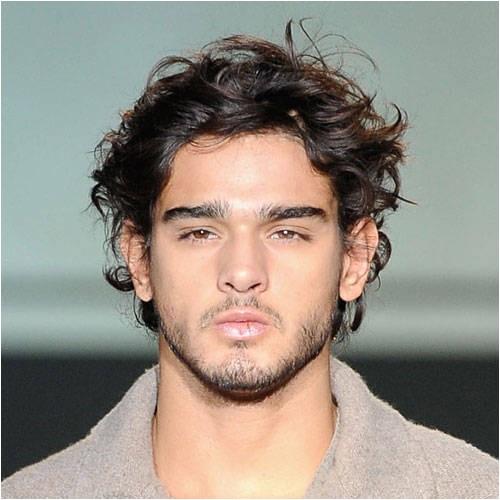 12 cool hairstyles men wavy hair