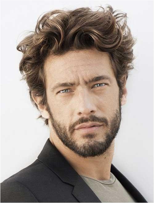 16 haircuts for wavy hair men