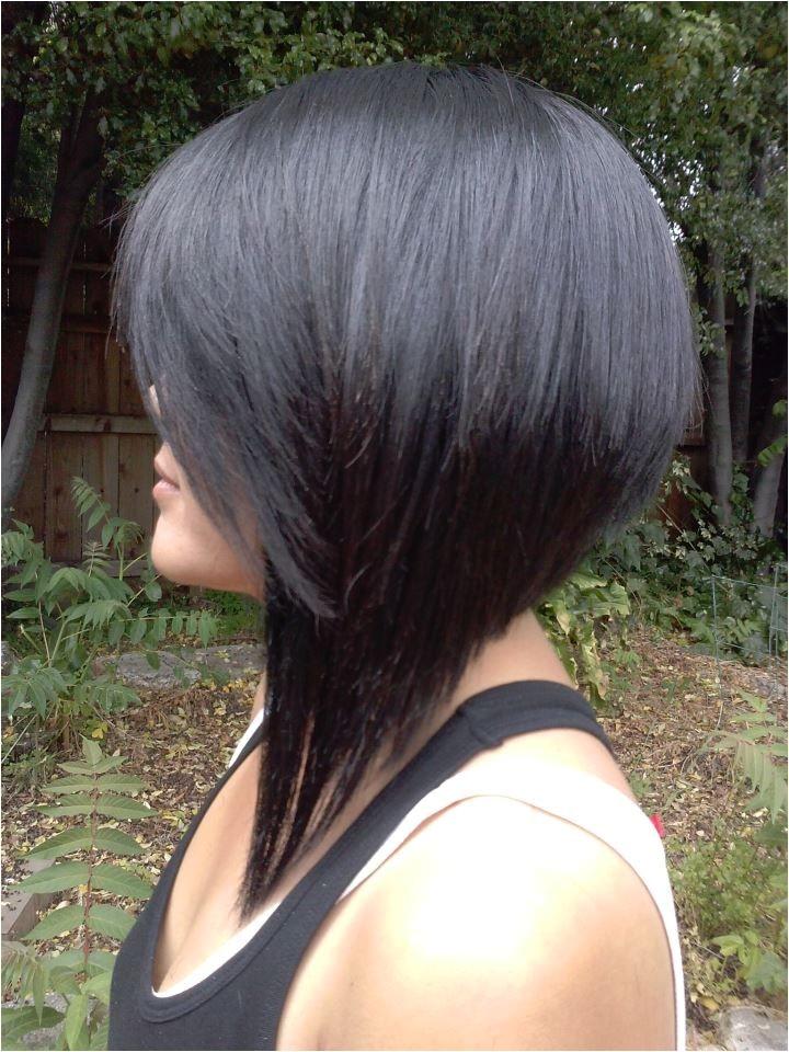 Dramatic Bob Haircut Dramatic A Line